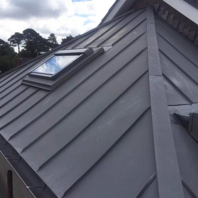 Zinc roof and Dormer